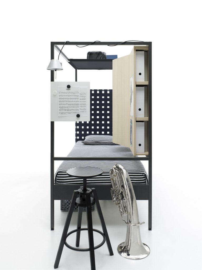 Diseño vertical para habitaciones juveniles