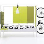 NookBed con complementos para colocar bicicleta