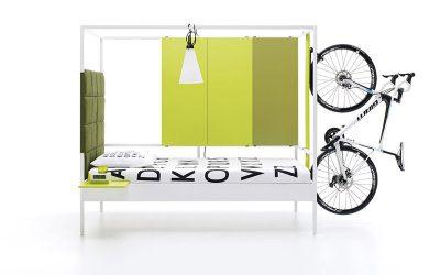 La habitación ideal para los amantes del ciclismo