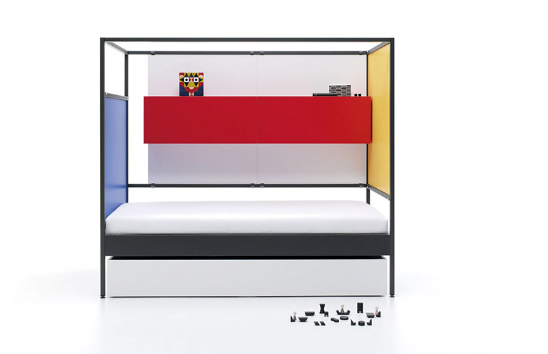 Cabezal liso para cama Nook Bed