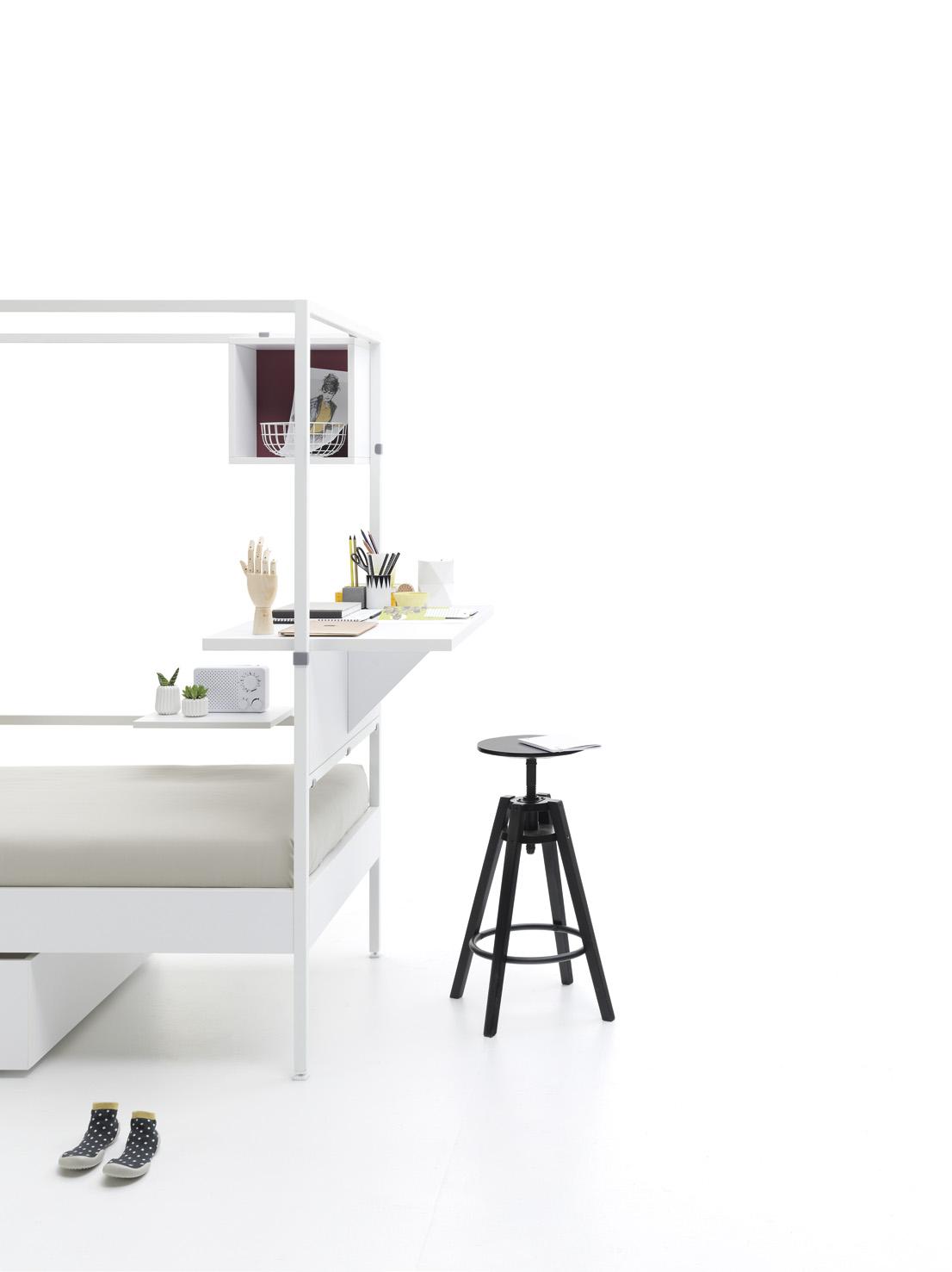 Cama Nook con escritorio incorporado