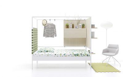 Estructuras de cama con sala de estar incorporada, lo último en diseño
