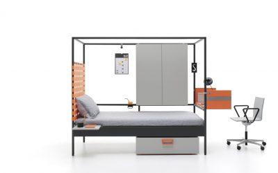 Funcionalidad y minimalismo se dan la mano con este diseño Nookbed