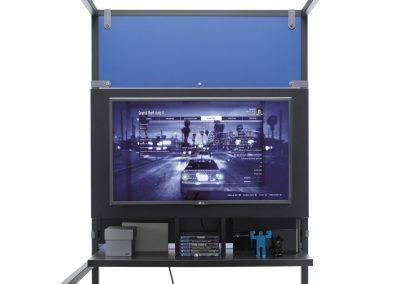 Módulo multimedia par televisión y consola