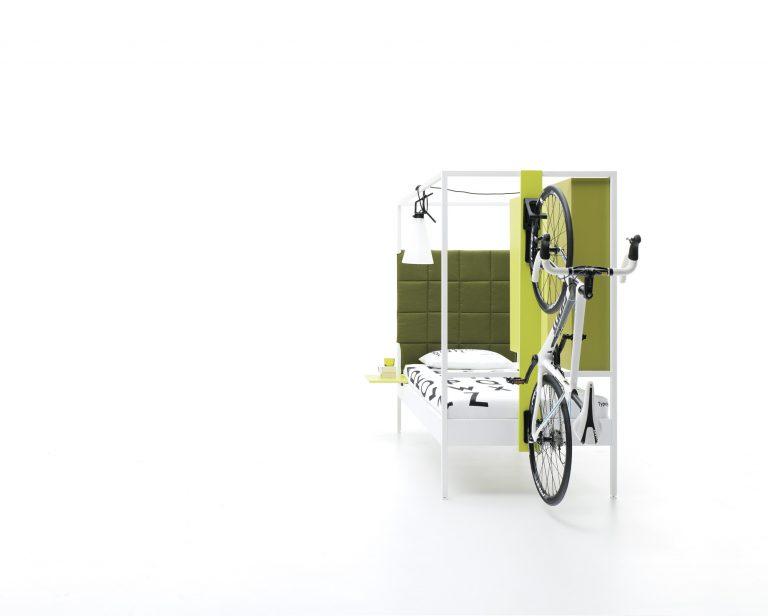 Nook Bed con soporte bicicleta
