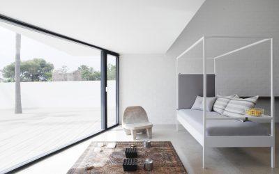 Espacio abierto y conceptual en dormitorios Nook Bed