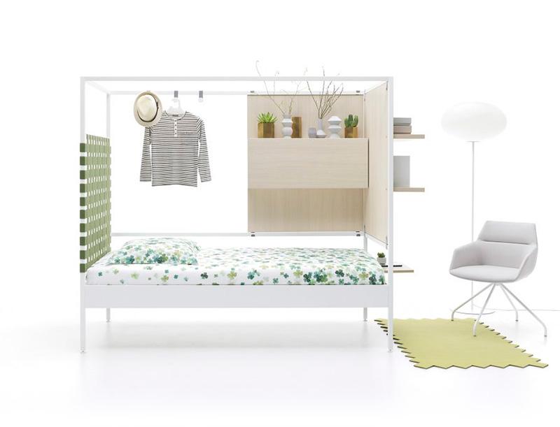 Cama estructura metálica Nook Singular Beds