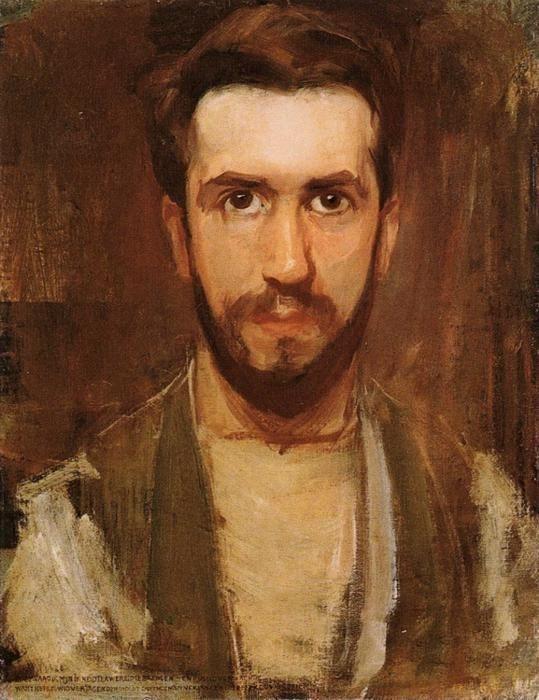 Mondrian Zelfportret