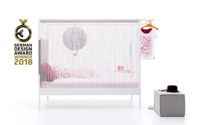 Nook Bed Ganador de un German Design Award 2018